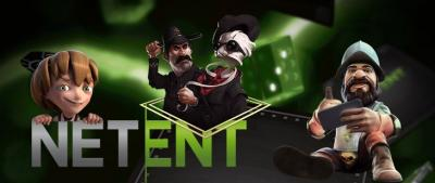 NetEnt online slot charatchers Gonzo's Quest™, Jack and the Beanstalk™ and The Invisable Man™